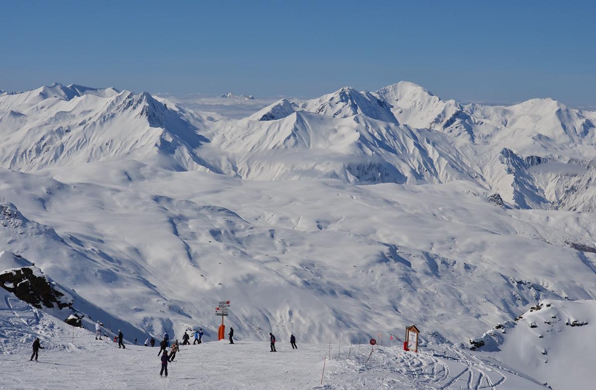 Роскошный отдых во Франции на горнолыжном курорте