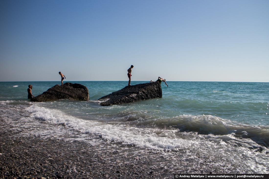 Ныряльщики в море