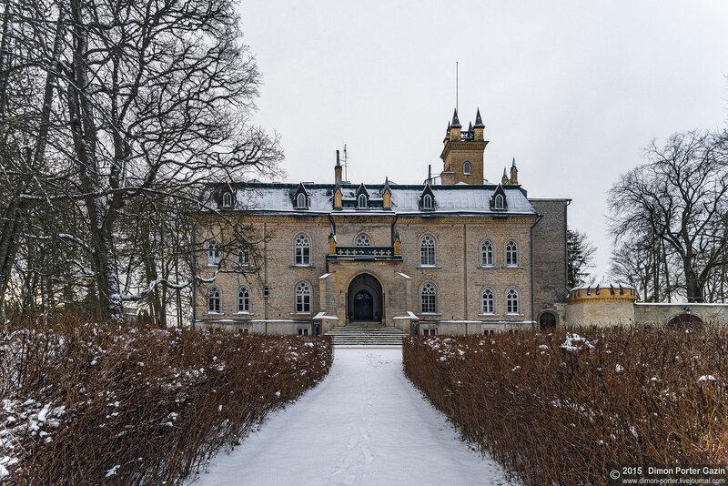 Эстония. Лайтсе. Замок