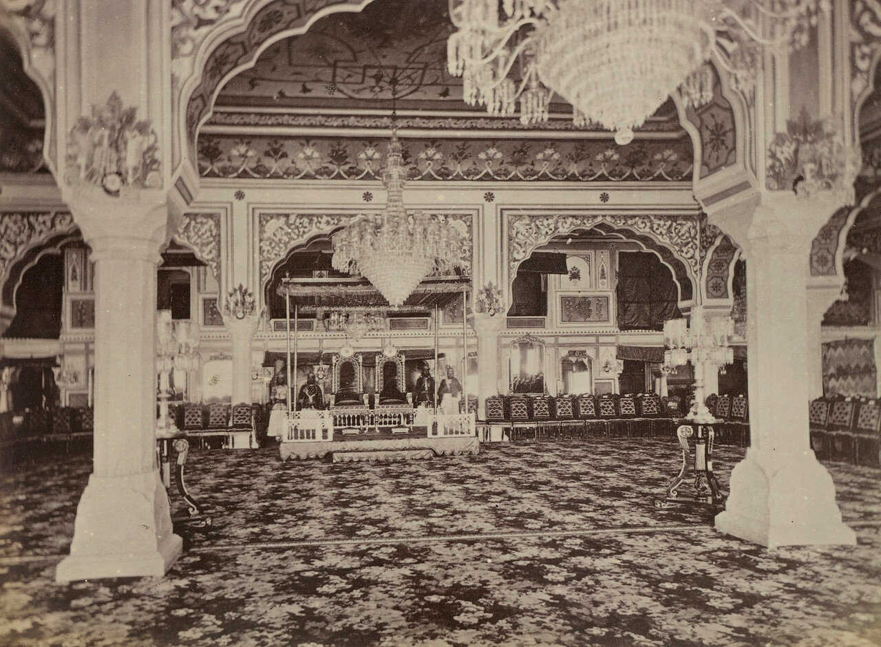 89. Дурбар-холл во дворце Джайпура
