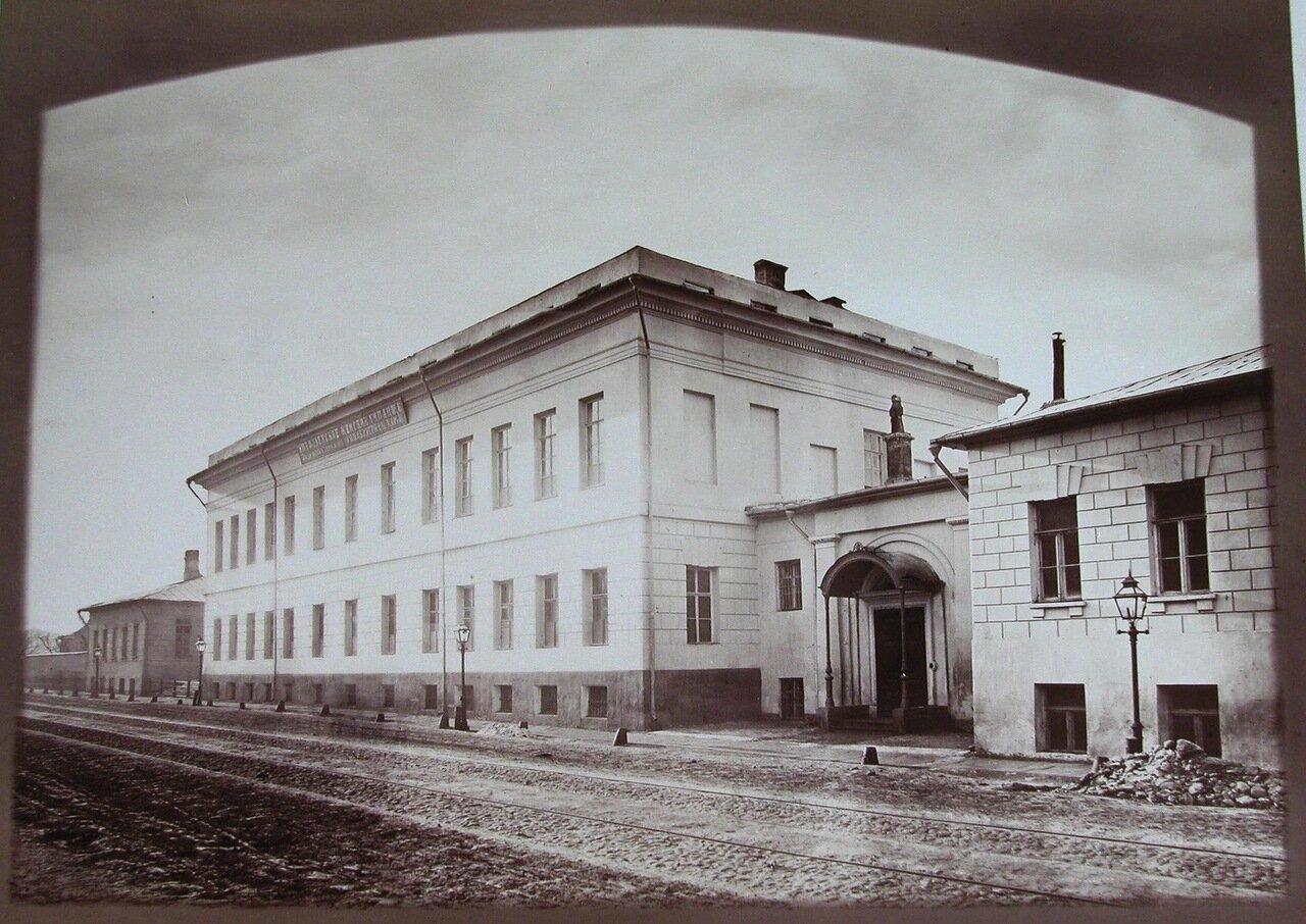 16. Вид здания Николаевского женского училища