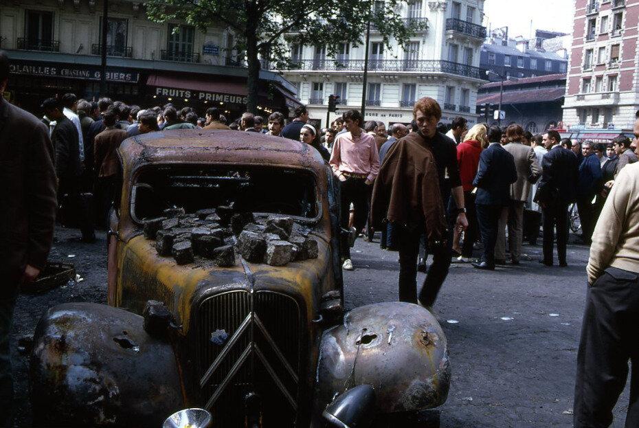 1968. Сожгли автомобиль