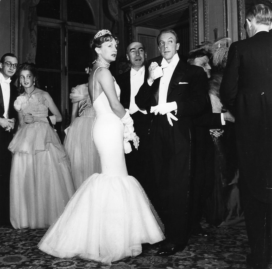 1950. Г-н и г-жа Жак Фат