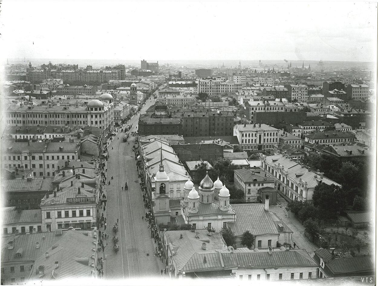 560. Панорама Москвы с Сухаревой башни. 1910-е