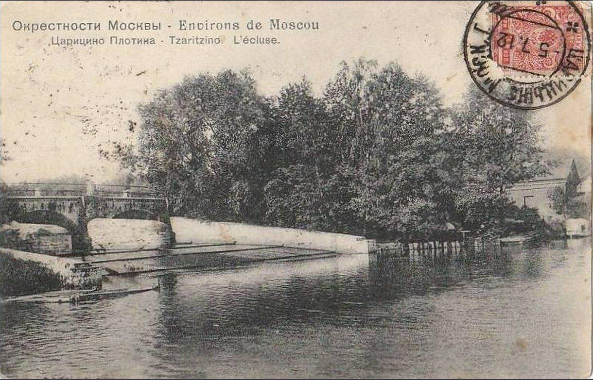 Окрестности Москвы. Царицыно. Плотина