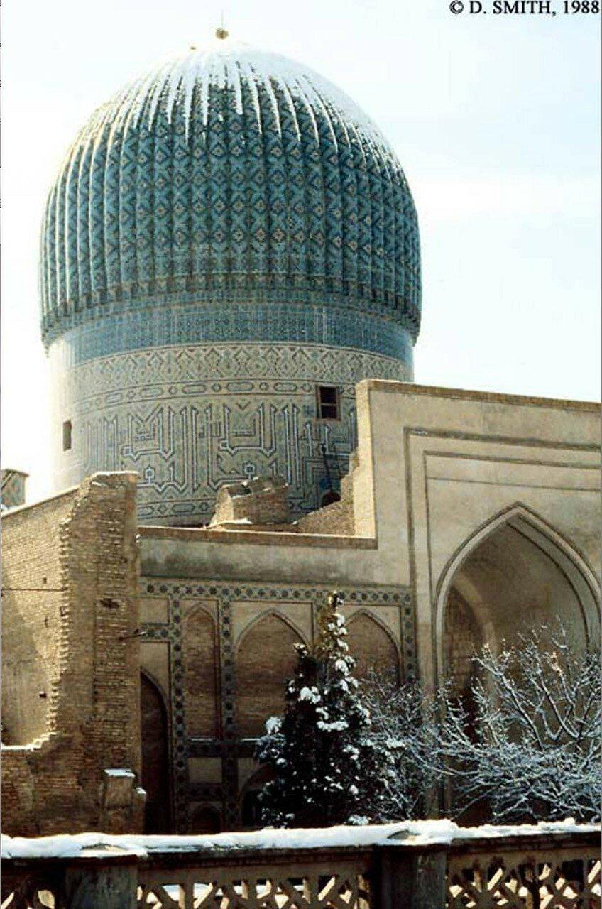 Самарканд. Гур-Эмир,   мавзолей Тамерлана и его семьи