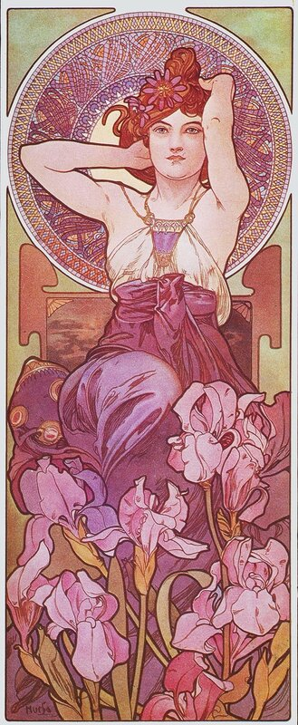 Драгоценные камни-Аметист-1900.jpg