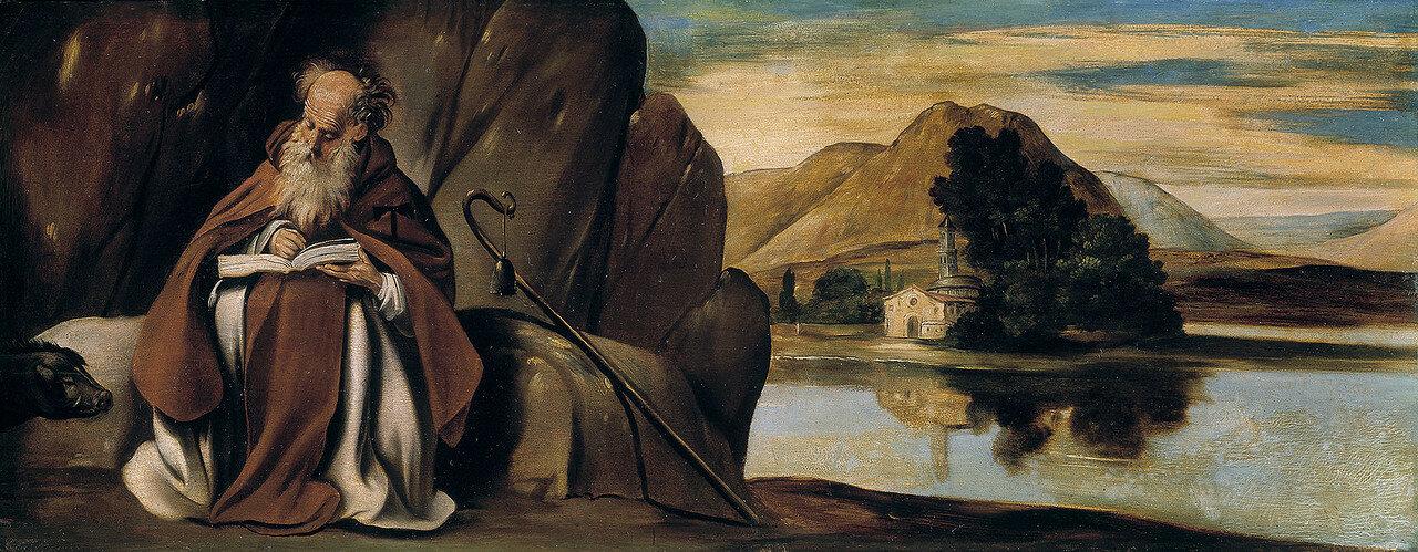 Maino_San_Antonio_Abad__Museo_del_Prado хуан батиста майно 1512-1514.jpg