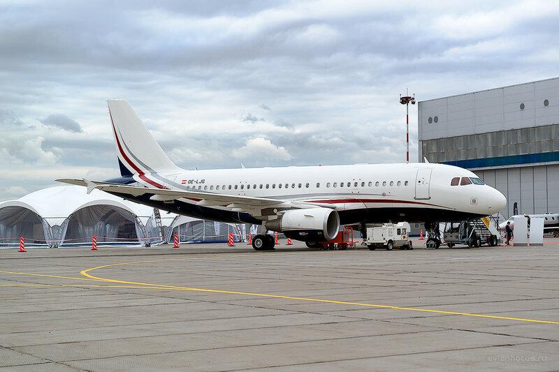Airbus A319-115/CJ (OE-LJG) MJet D800815