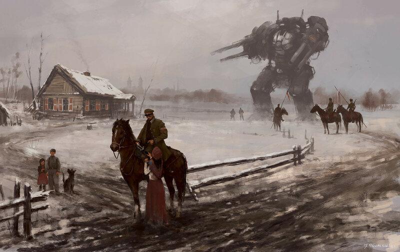 автор Jakub Rozalski