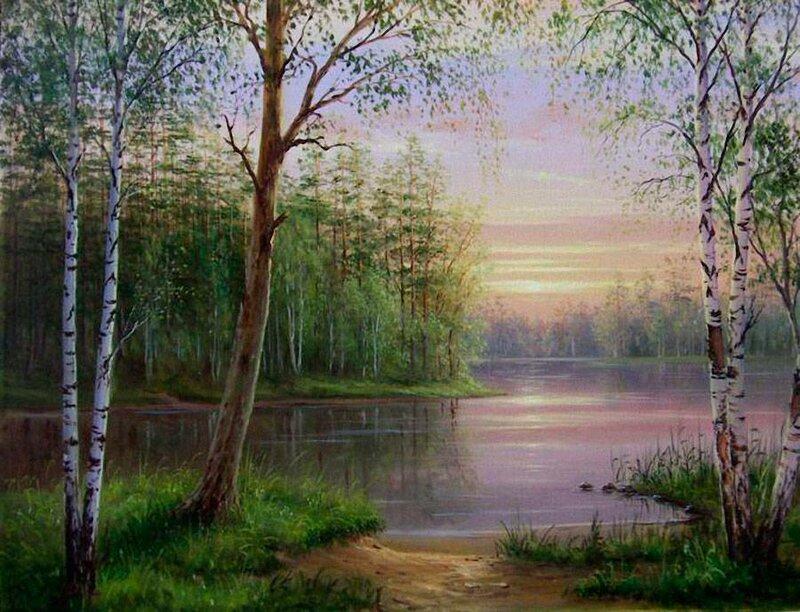 Белорусский художник Олег Чувашев. Нежные пейзажи и натюрморты 0 1110cf eaaea922 XL