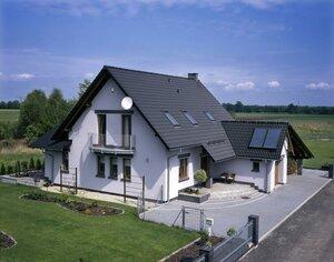 Скатная крыша в частном доме