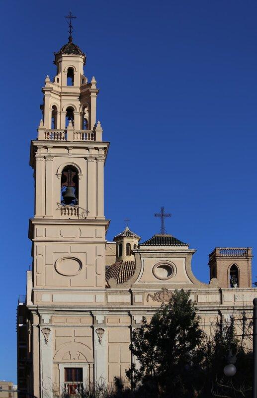 Валенсия, Valencia, Церковь Святой Моники. Iglesia de Santa Monica