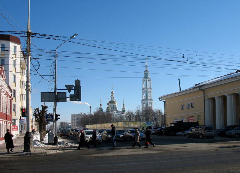 Соборная площадь. Фото 11 февраля 2015 года