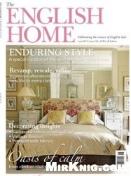 Журнал The English Home - June 2015