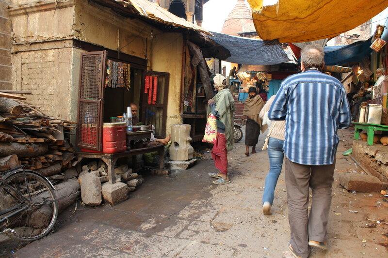 На улочках Варанаси