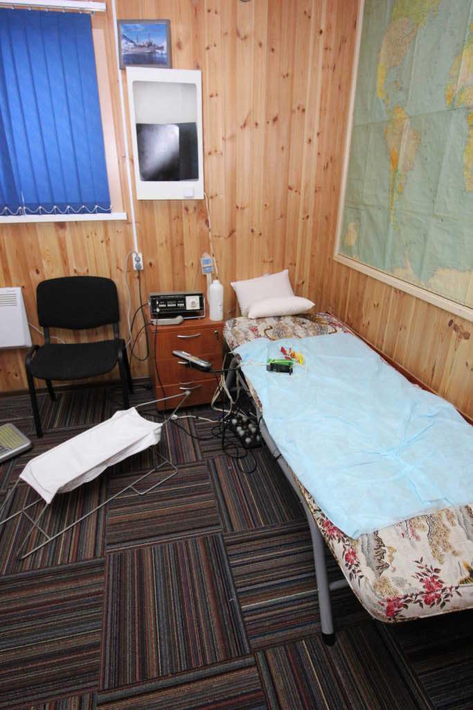 Антарктическая станция — как это устроено, Госпиталь