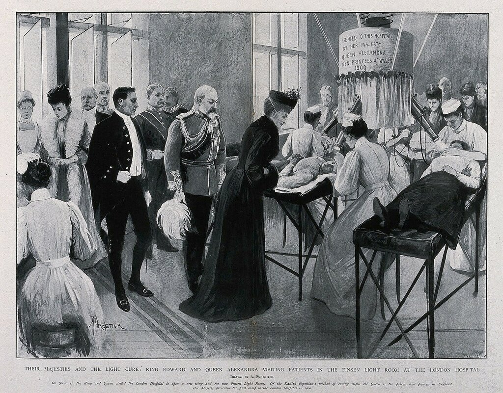 The_London_Hospital,_Whitechapel;_King_Edward_VIII_and_Queen_Wellcome_V0013771.jpg