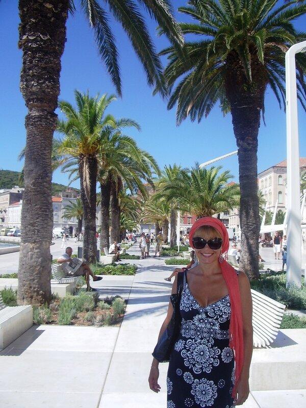 Хорватия, Сплит – набережная (Croatia, Split – Embankment)