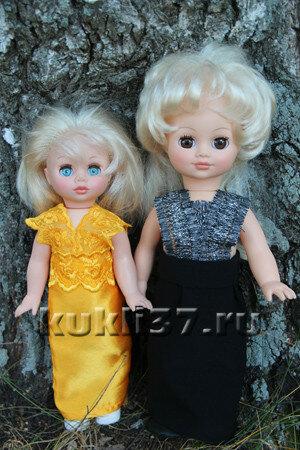 топ для куклы из тесьмы
