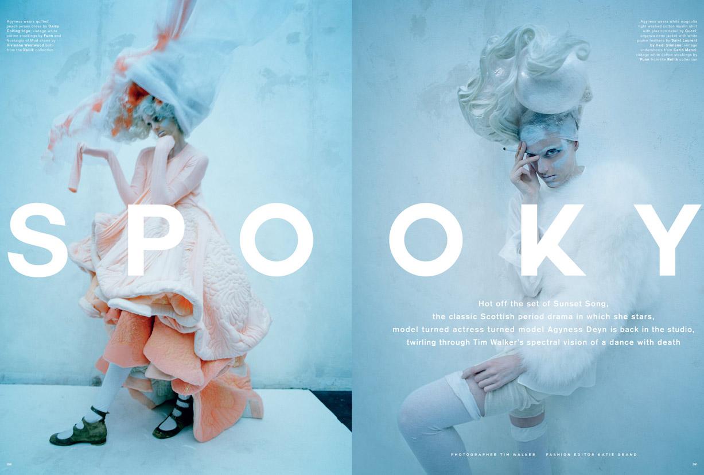 Агнесс Дейн / Agyness Dean by Tim Walker for Love Magazine Spring-Summer 2015