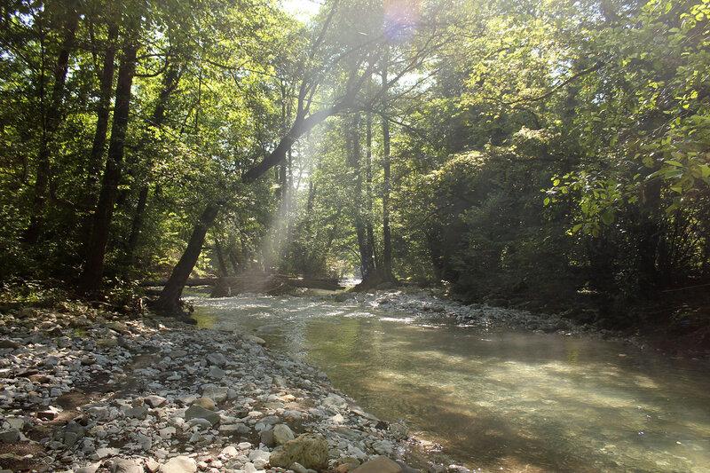 По реке Букепка в Бешенский каньон