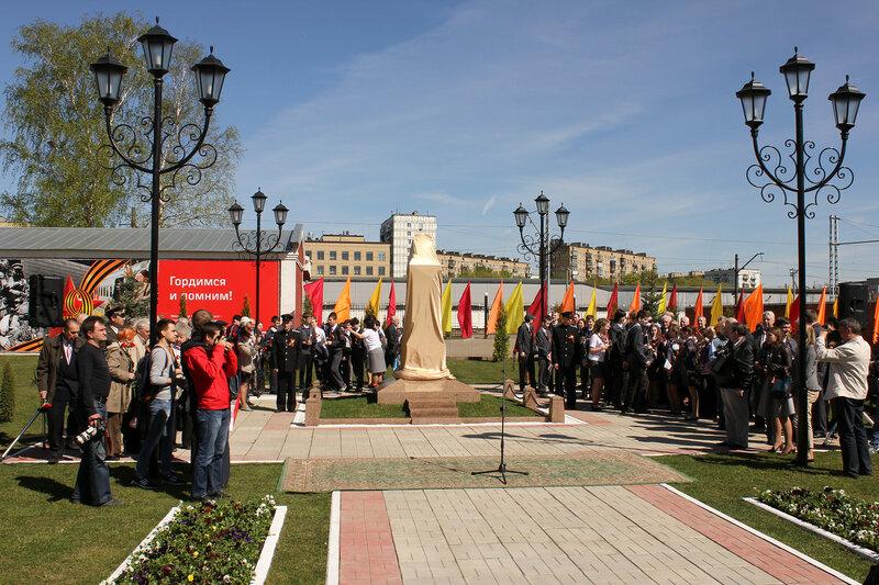 Мемориал в депо Подмосковная