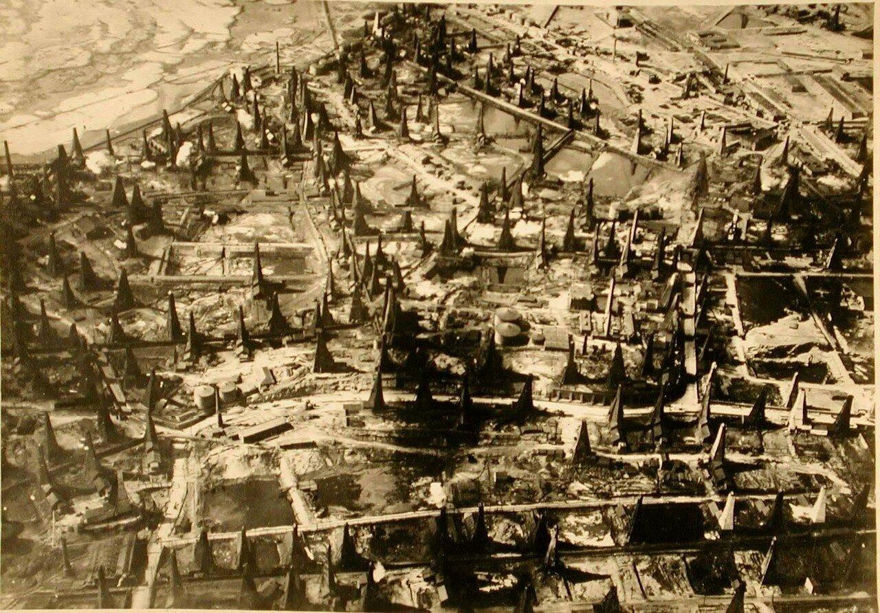 40. Снимок части города с высоты полета