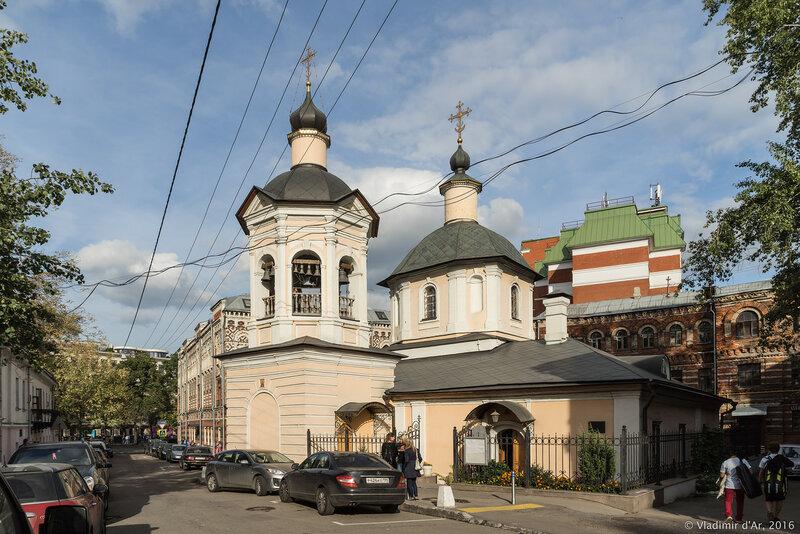 Храм преподобного Сергия в Крапивниках