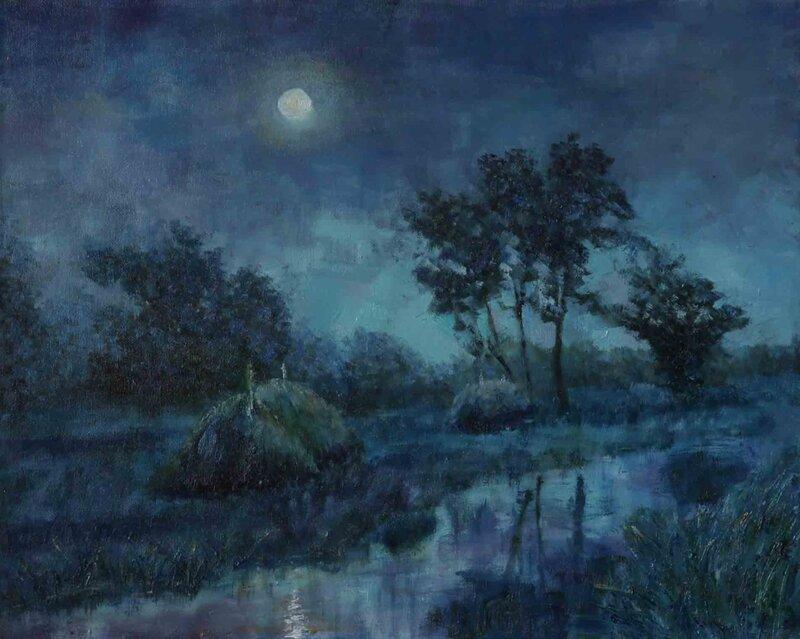 Река времен, Лунная ночь