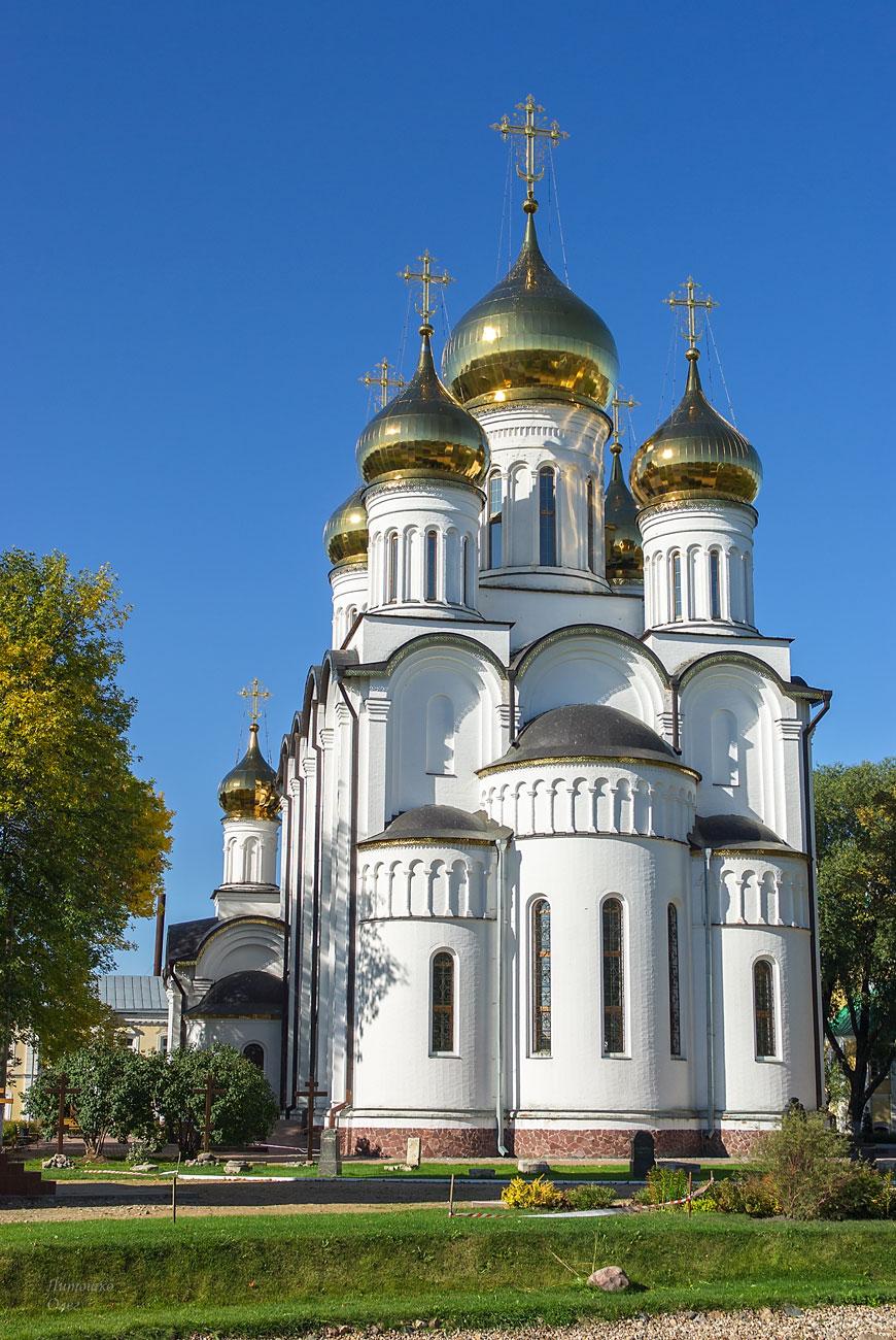 Переславль-Залесский. Свято-Никольский женский монастырь.