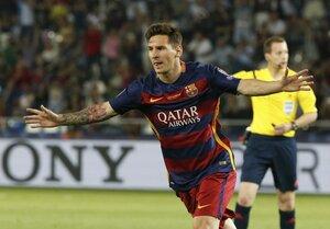 Лионель Месси назван лучшим игроком матча за Суперкубок УЕФА