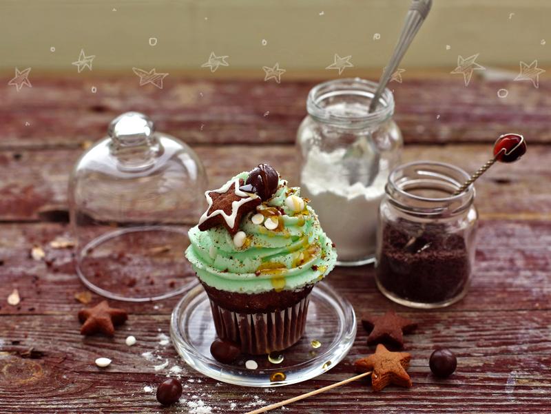 Капкейки с какао рецепт с фото