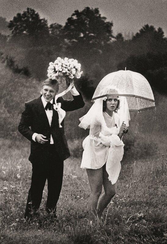 1 Валдис Браунс  «Счастливый дождь». Молодожены. 1977 год.jpg