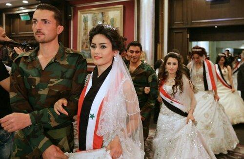SYRIA-CONFLICT-WEDDING