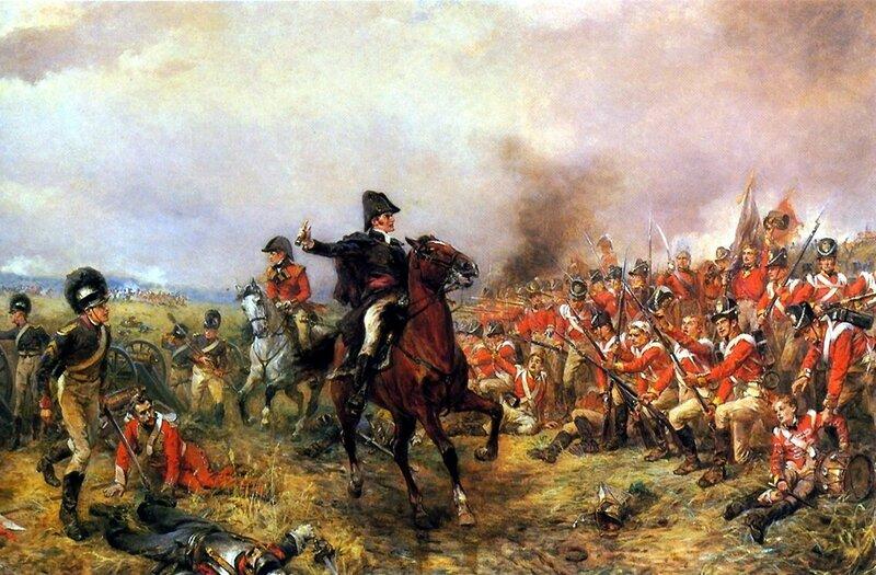 1815 Wellington en Waterloo.jpg