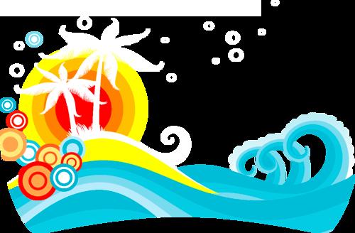 пляжный декор