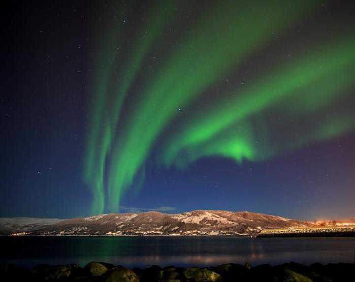 Красивые фотографии полярного сияния 0 10d601 b336dd4c orig