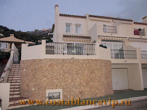 Таунхаус в Altea, таунхаус в Алтее, недвижимость в Алтее, таунхаус в Испании, недвижимость в Испании, Коста Бланка, элитный жилой комплекс, CostablancaVIP, таунхаус с видом на море, недвижимость в Аликанте