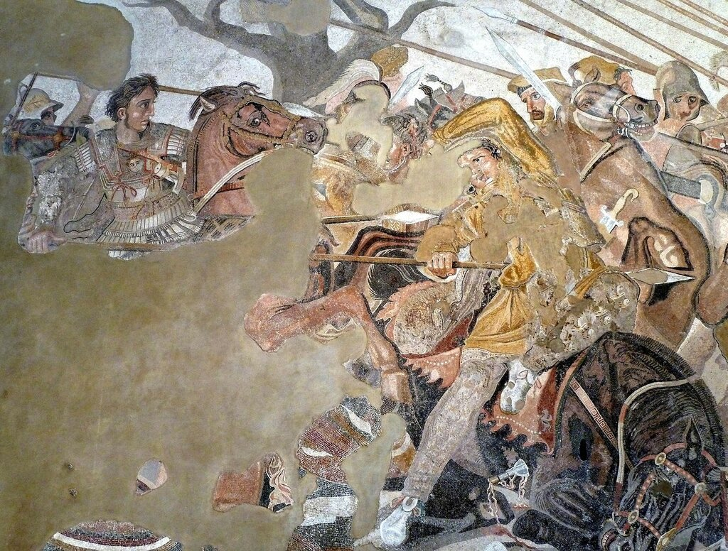nature methaphors in the battle of issus Alexander the great wins a decisive battle at the iaxartes river against the scythians 329 bce alexander the great founds the city of alexandria escate in neb (tajikstan.