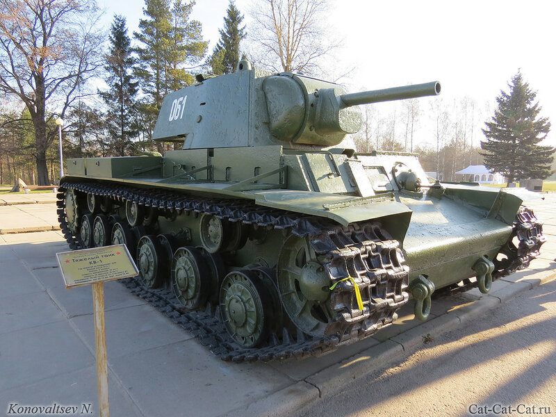 Тяжёлый танк КВ-1. Музей-диорама «Прорыв блокады Ленинграда»
