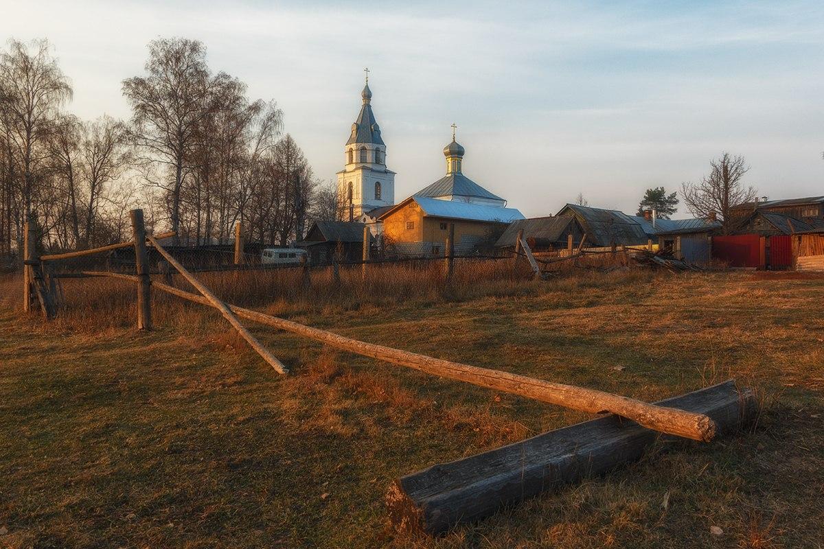 сельская церквушка