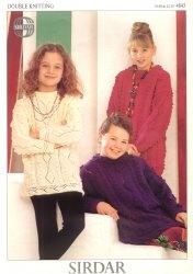 Журнал Sirdar Country Style DK. Tunic Knitting Pattern №4843