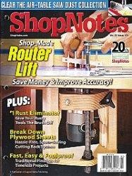 Журнал ShopNotes №121 2012