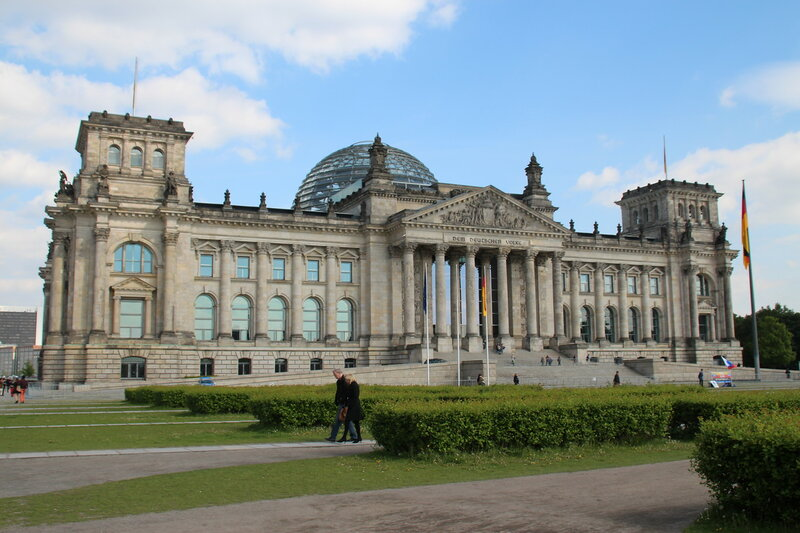 Здание Рейхстага в Берлине (2014 год)