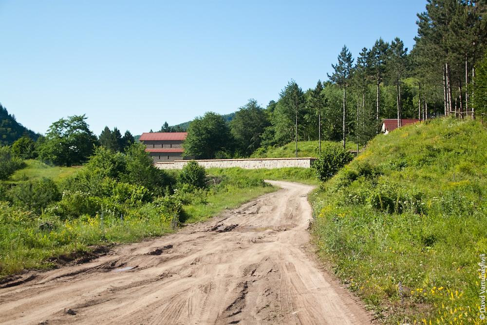 Грузия, по дороге в монастырь Козипа