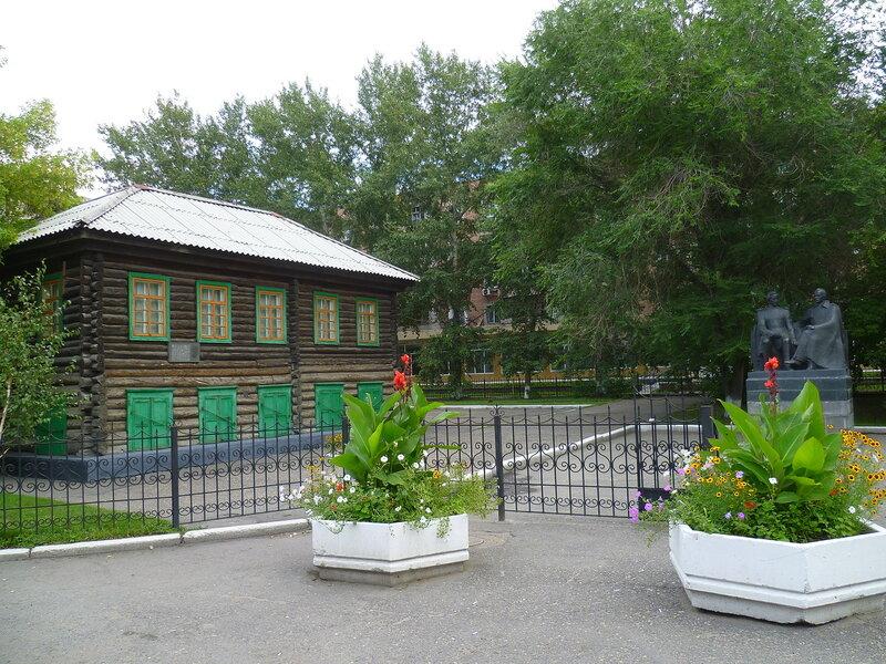 Семипалатинск, музей Достоевского (Semipalatinsk, Dostoevsky Museum)