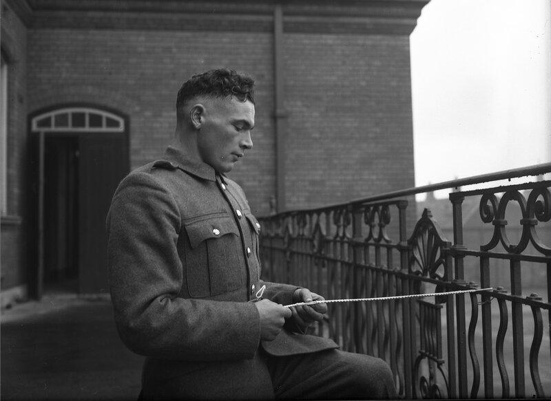 Солдат ирландской армии.