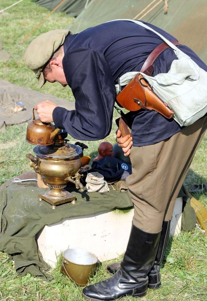 Солдаты Советской Армии в британских реконструкциях сражений 2-й мировой войны (3)