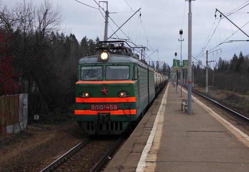 ВЛ10у-459 в Матрёнино